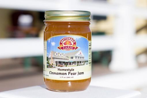 Homestyle Cinnamon Pear Jam
