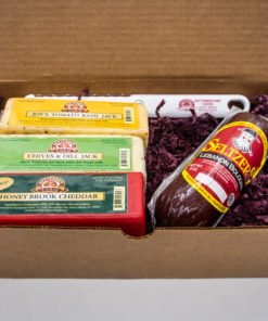 small sampler cheese gift set