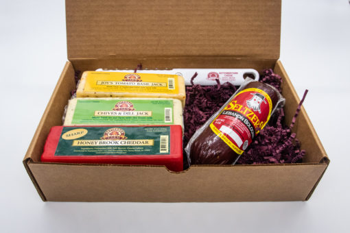 small sampler cheese gift set