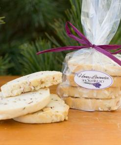 HONEY LAVENDER SHORTBREAD COOKIES
